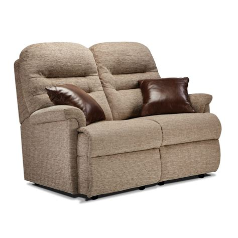 Seater Settee by Keswick Small Fabric Fixed 2 Seater Settee Care100