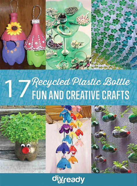 recycled plastic bottle crafts diy projects craft ideas