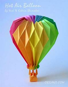 Origami Hot Air Balloon