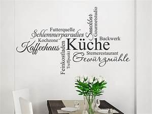 Wandtattoo Wortwolke Küche WANDTATTOO DE