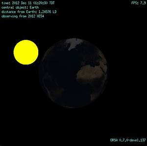 Close pass and possible asteroid eclipse tonight of 2012 ...