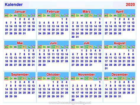 kalender german