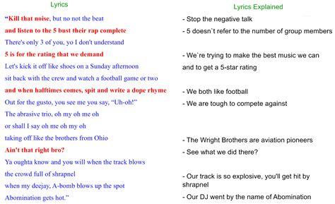 Pin Rap Words Lyrics On Pinterest