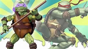 Teenage Mutant Ninja Turtles Film Toys (2014, 1990 and ...