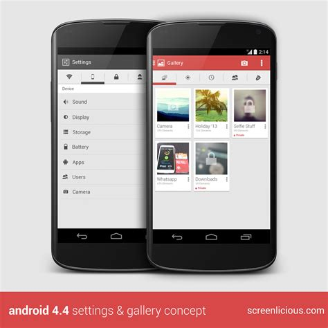 android kitkat 4 4 android 4 4 kitkat concept emerges