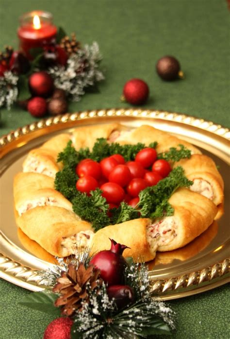 christmas wreath crescent rolls appetizer recipes