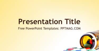 download template powerpoint 2017 satelit pills archives prezentr