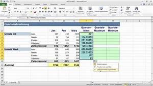 Excel Tage Aus Datum Berechnen : mittelwert funktion excel 2010 formeln und funktionen youtube ~ Themetempest.com Abrechnung