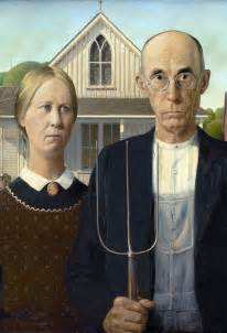 Image result for Grant Wood