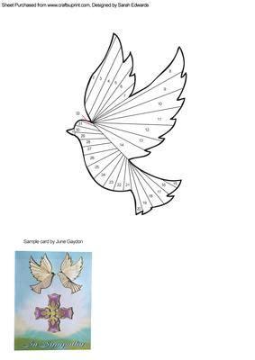 dove iris folding pattern visit    personal blog