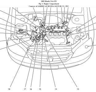 2001 Honda Civic Ex Engine Diagram by 5 Best Images Of 2001 Honda Civic Engine Diagram 2003