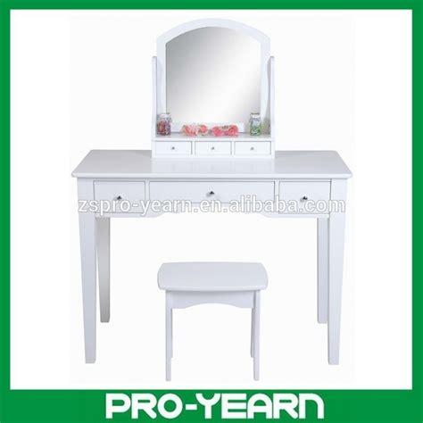 tabouret pour coiffeuse chambre en bois moderne coiffeuse maquillage commode avec miroir