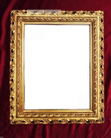 gold bilderrahmen wandspiegel 43x36 spiegel barock rechteckig gold bilderrahmen arabesco 3