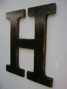 Best 25 Hanging Wooden Letters Ideas On Pinterest
