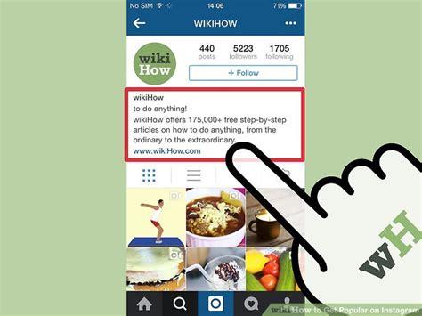 ways   popular  instagram wikihow