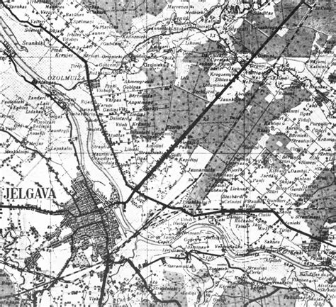 Vecās Jelgavas Kartes - FOTO ~ IMAGES