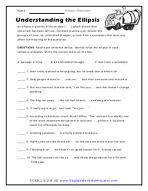 English Grammar Omission Exercises For Class 8 English
