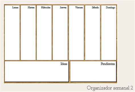 planificacion la importancia de organizar mi semana