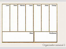 Planificación la importancia de organizar mi semana