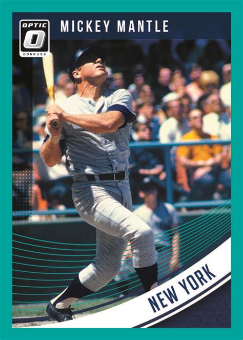 The most valuable baseball cards in the hobby can easily fetch six and seven figure price levels so, whoever says that baseball cards are no longer valuable simply doesn't know what he or she is. 2018 Donruss Optic Baseball Cards Checklist - Go GTS