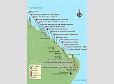 Area Maps Punta Cana Dominican Republic