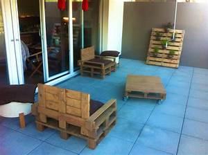 meuble s 3 salon de jardin en palettes pearltrees With meuble en palette