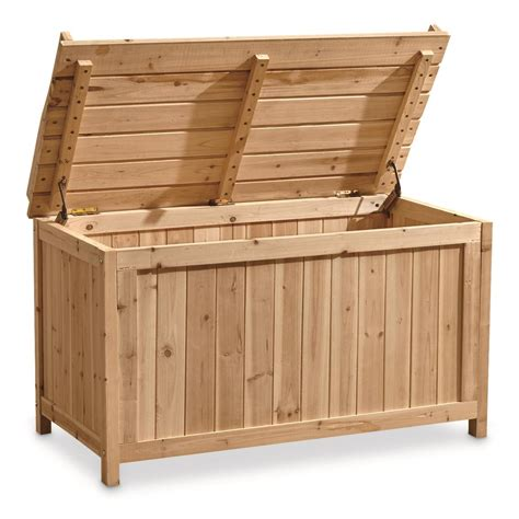 Storage Furniture Bench by Castlecreek Wooden Storage Bench 703598 Patio Furniture