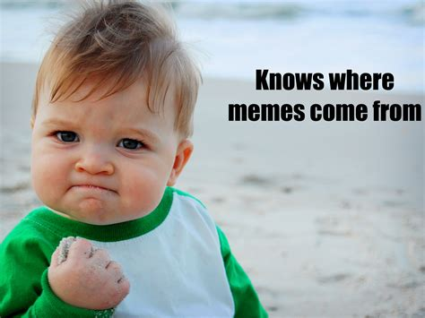 Meme Baby Products - here s where this success kid pic and other internet memes originally came from business insider