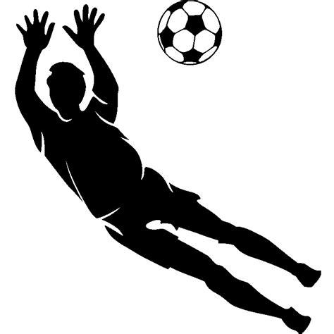 cuisine anglaise stickers sport et football sticker silhouette gardien de