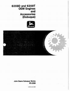 John Deere 6359 Parts Catalog For Oem Engines D And T