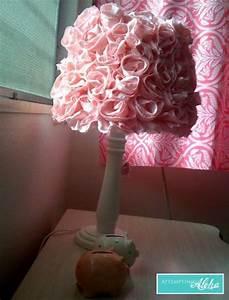 Abat Jour Rose : id e d co abat jour fleuri blog de petit citron blog de petit citron ~ Teatrodelosmanantiales.com Idées de Décoration
