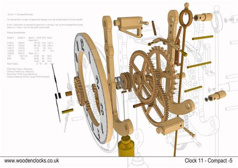 wooden clock wooden clock plans clock   wooden