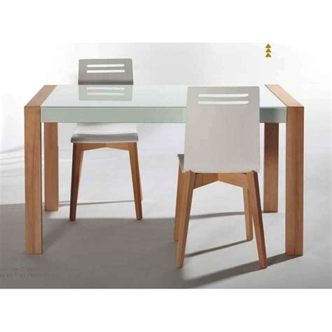 table cuisine table de cuisine en verre extensible