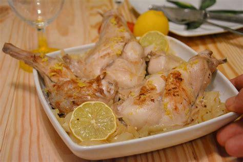 cuisiner du lapin lapin au citron au fil du thym
