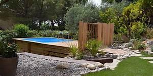 renovation d39un jardin mediterraneen eguilles creation With ordinary jardin paysager avec piscine 6 creation