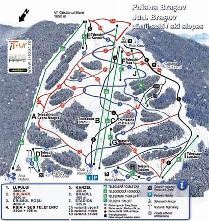 Brasov Poiana Romania Straja Ski Transalpina Map