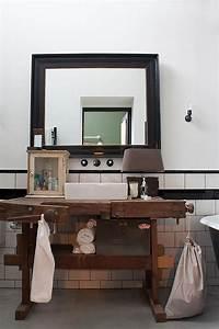 Meuble Salle De Bain Style Industriel : tourdissant meuble industriel salle de bain avec salle de ~ Teatrodelosmanantiales.com Idées de Décoration