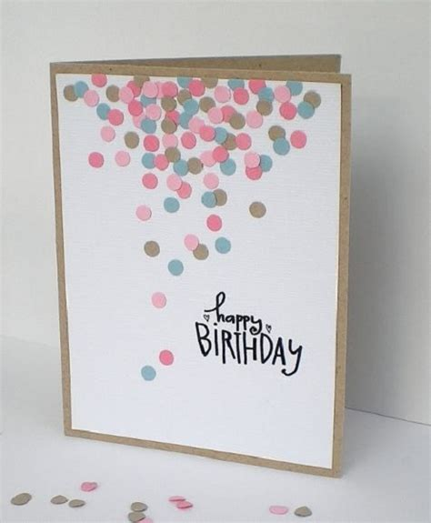 I love getting snail mail! Handmade Birthday Cards - Pink Lover