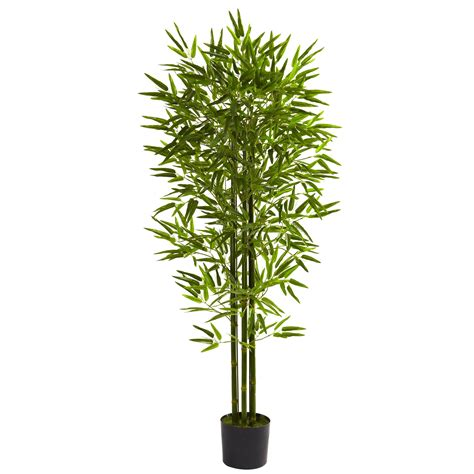 bamboo tree plant 5 foot outdoor artificial bamboo tree limited uv 5385