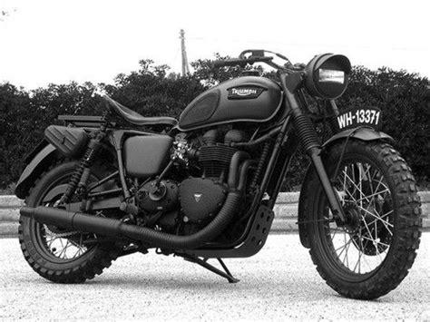 black motorbike triumph motorcycle matte black muscle pinterest all