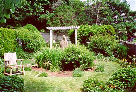 Mary Garden Woods Hole Massachusetts University