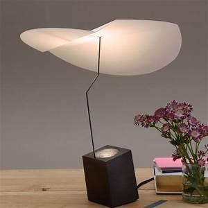 Lampe A Poser Design : lampe a poser presse citron ekil blanc ekbl ~ Preciouscoupons.com Idées de Décoration