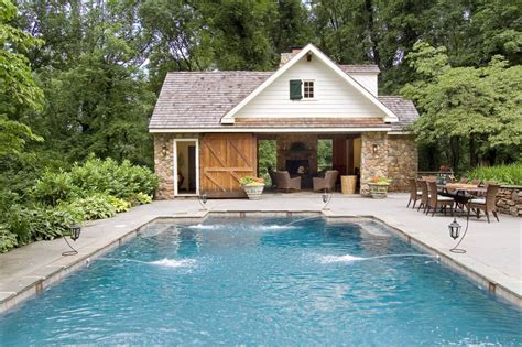 barn doors for house Pool Traditional with barn beam barn