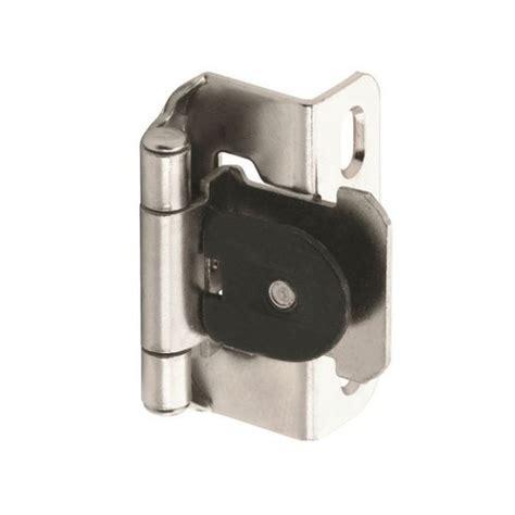 amerock cabinet hinge parts amerock single demountable 1 2 quot overlay hinge nickel pair