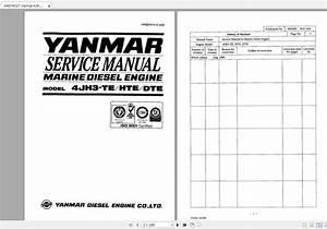 Yanmar Marine Diesel 4jh3