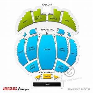 Tennessee Theater Knoxville Seating Chart Tennessee Theatre Seating Chart Vivid Seats