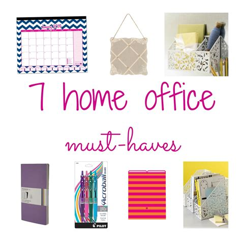 Office Desk Must Haves by Stay Organized With Home Office Accessories Todays Work