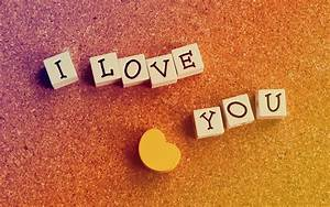 I Love You Wallpaper 15459 1680x1050 px ~ HDWallSource.com