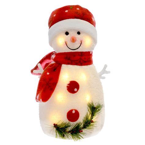 light up snowman light up snowman warm white leds snowflake