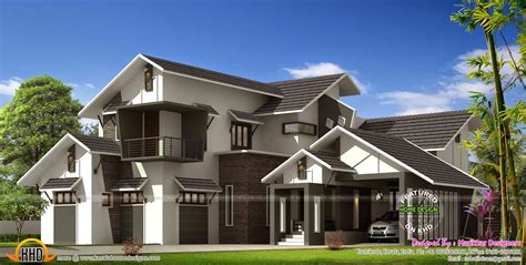 Contemporary Home With L Shape Sit Out